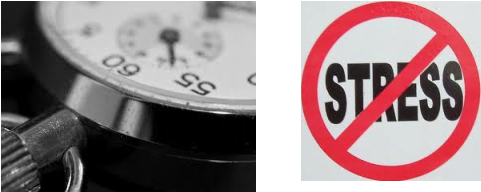 2 photos: Stop Watch and Anit Sress Logo