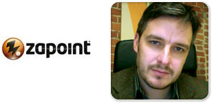Zapoint Logo and Founder Chris Twyman