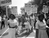 Women Marching Civil Rights Era